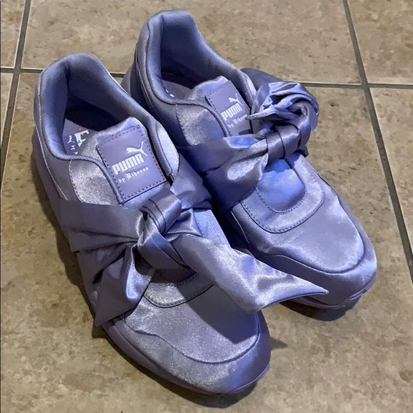 watch 178a4 c6ab6 Puma Fenty Bow Sneakers In lavender